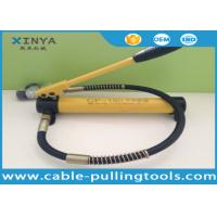 Wholesale CP-180 Light Weight Hydraulic Hand Pump Manual Pump 70MPa For Connecting Crimping Head from china suppliers