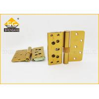 Quality High Performance Wood / Flat Door Steel Butt Demountable Hinges Hardware for sale