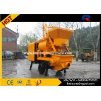 Quality 37kw Power Hydraulic Concrete Mixer Pump Trailer 40m3/h Pumping Output for sale
