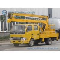 Wholesale 14M Articulated Booms High Altitude Operation Truck IVECO Yuejin Double Row Cabin from china suppliers