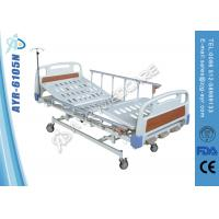 Wholesale ABS Frame Board Manual Hospital Bed / Hospital Adjustable Beds from china suppliers