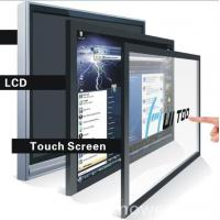 Wholesale 1920X1080 Resolution Large LCD Touch Screen Monitor , Multi Display Monitor from china suppliers