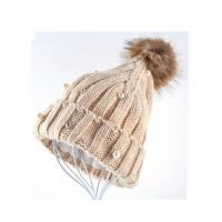 Wholesale Venonat Winter Knit Hats For Women , Customized Knitted Bobble Hat Original from china suppliers