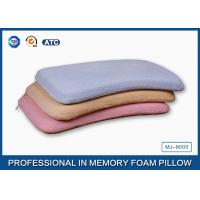 Wholesale Adorable Nursing Memory Foam Baby Pillow With Soft Bamboo Fiber / Jacquard Velour from china suppliers