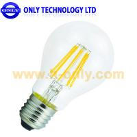 Wholesale 6W Candle LED Filament incandescent Bulb Light, silicon controlled dimmable from china suppliers