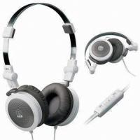 Wholesale Music Wired Stereo Headphones With Mic , Noise Reducing Headphone Foldable from china suppliers