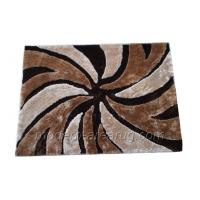 Wholesale Beige Polyester Contemporary Shaggy Rug Carpet , Modern Patterned Shaggy Rugs from china suppliers