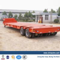 Wholesale Low Flat Bed Trailer with 4 Axles 120 tons from china suppliers