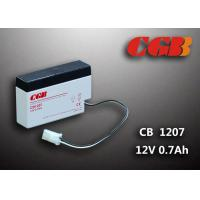 Wholesale 12 Volt 0.8Ah CB1207 Valve Regulated Lead Acid Battery For Electric Equipment from china suppliers