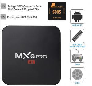 Quality MXQ PRO MXQ-4K MXQ Amlogic  S905X Quad-Core Cortex-A53@2.0GHz for sale