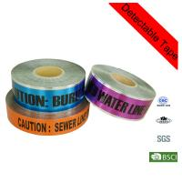 Wholesale Printed Utility Electrical Caution Line Marking Underground Detectable Warning Tape from china suppliers