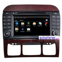 Wholesale Autoradio 7'' Android Car Sat Nav for Mercedes Benz S-Class W220 GPS Navigation DVD Player from china suppliers