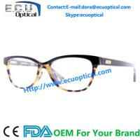 Quality 2014 new design acetate optical frame Acetate glasses made by china factory for sale