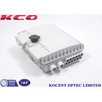 Buy cheap Telecommunication Networks Fiber Optic Terminal Box / Outdoor Terminal Box from wholesalers