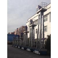 Wholesale 6m Aluminum Self Propelled Vertical Mast Lift Hydraulic Ladder For With 480KG Capacity from china suppliers
