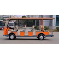 Quality Customized Colorful Electric Sightseeing Car , Electric Passenger Bus With 12+2 Seaters for sale