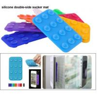 Wholesale Silicone Sucker Mat, Cell Phone sucket Holder, silicone suction cup for mobilephone from china suppliers