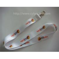 Wholesale Cheap full color neck strap, brand logo full color print badge neck lanyard, from china suppliers