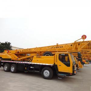 China Yellow  QY20G.5 XCMG Telescopic Boom Crane Smarter 20 Ton WD615.92E on sale