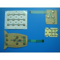 Wholesale Light Weight Flexible PCB Printed Circuit Board 0.08mm With Cover Film from china suppliers