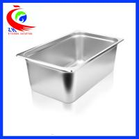 Wholesale GN Pan Stainless Steel Food Container / Spice Box Set For School from china suppliers