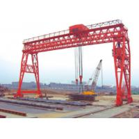 Wholesale Red Economical 70t Truss Gantry Crane For Stockyards / Machinery Factory from china suppliers