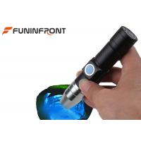 Wholesale USB Rechargeable 365NM UV LED Torch Black Light MINI Flashlight for Gem Detect from china suppliers