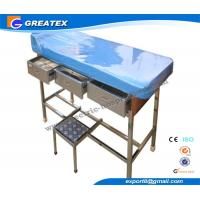 Wholesale Artifical leather Doctor Examination Couch with Pillow for Gynecological  Surgery from china suppliers