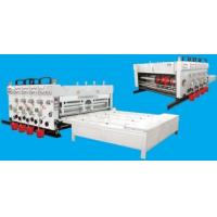 Quality Auto Chrome Carton Making Machine 60pcs/min With Chain Feeding Model For Printing for sale