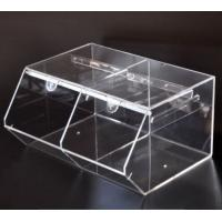 Wholesale Acrylic Candy Storage Box 38x30x20cm Clear Plastic from china suppliers