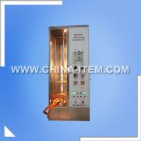 Wholesale IEC 60332-1-2 Single Cable Vertical Burning Tester from china suppliers