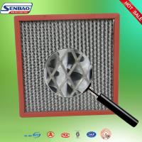 Wholesale Aluminum Seperator High Efficiency Hepa Filter Fiberglass Media Deep Pleated from china suppliers