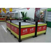 Wholesale Knockdown Metallic Supermarket Promotion  Display Table / Advertising Promotion Counter from china suppliers