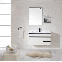 Quality Bathroom Cabinets With Towel Hanger Accessories Washroom Mirror for sale