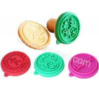 Wholesale Ginger Man,Deer,Alphabet Design Food Grade Silicone Cookie Stamp Cutter As Set For Fun from china suppliers