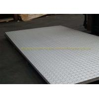 Wholesale SGS Galvanized Checker Plate Metal Flooring Sheets ASTM A36 A283GRC from china suppliers