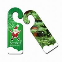 Wholesale Room Door Hangers, Fashionable Shapes, Suitable for Promotional from china suppliers