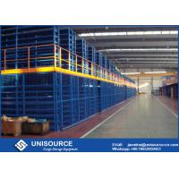 Wholesale Unisource Industrial Pallet Rack Mezzanine , Multi Tier Mezzanine Racking System from china suppliers