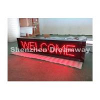 Wholesale PH 10 Indoor LED Moving Message Display Single Red with CE / UL Standard from china suppliers