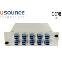 Wholesale Low Loss 8ch 16ch 100Ghz DWDM Mux Demux LGX And ABS Box Package Module from china suppliers