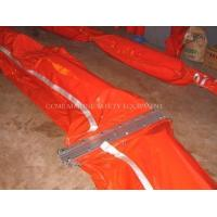 Quality Oil Containment Boom with material PVC or rubber or DHPE for sale