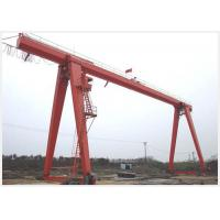 Wholesale Single Girder 10 Ton Gantry Crane with Electric Hoist , Movable Gantry Crane from china suppliers