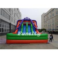 Wholesale PVC Tarpaulin Inflatable Octopus Slide Inflatable Jumping Slide 10 X 6 X 6m For Kids from china suppliers