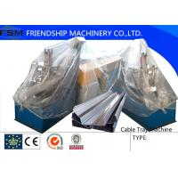 Wholesale Cr12 Cutter Cable Tray Roll Forming Machinery With 18 Forming Stations from china suppliers