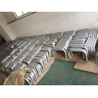 Wholesale Machining Silver Anodized AA20um Aluminium Round Tube with Holes from china suppliers