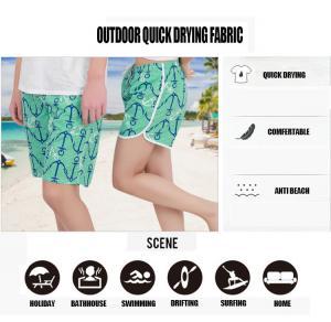 Wholesale Men beach dress Summer blazers beach shorts leisure casual Anchor design wear  2017 new  Summer Wear from china suppliers