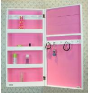Quality Mirrored Wall Jewelry Storage for sale