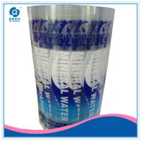 Quality plastic water bottle adhesive sticker label printing for sale