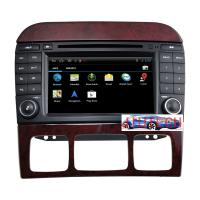 Wholesale Car Stereo GPS Headunit Multimedia DVD Player for Mercedes Benz S-Class  W220 (1998-2005) from china suppliers
