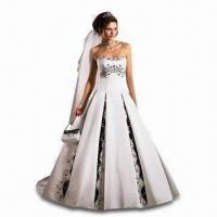 Wholesale Wedding Dresses with Color for Bride, Available in New Design from china suppliers